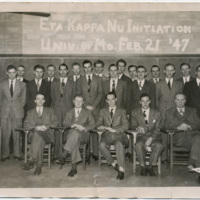 Eta Kappa Nu Initiation, 1947