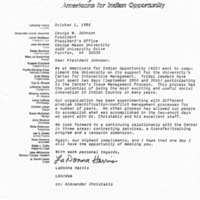 Letter About CIM from Americans for Indian Opportunity