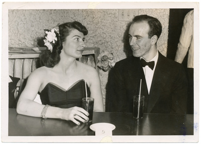 John Warfield and Rosamond Howe, 1947