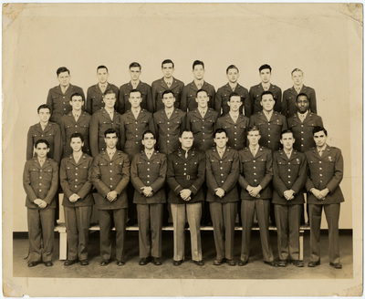 Army Specialized Training Program (ASTP) Group Photo, 1945