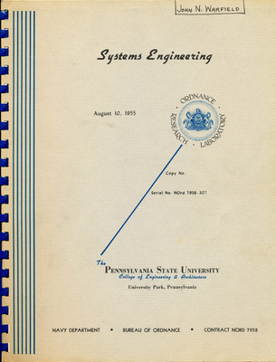 Systems Engineering, 1955